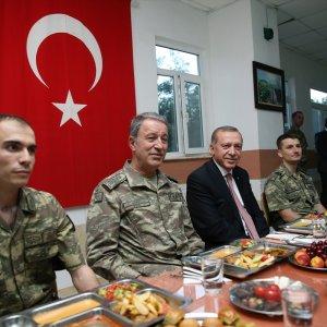 Askeri rahatsız eden sözlere Erdoğan müdahalesi