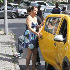 Ünlü oyuncu taksiye talim