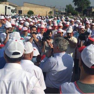 900 Nestle işçisi grevde