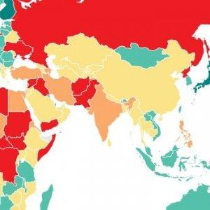 Türkiye huzur sıralamasında 145'inci oldu !