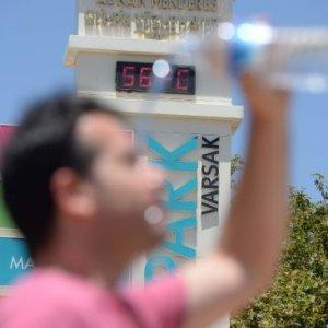 Antalya 56 dereceyi gördü