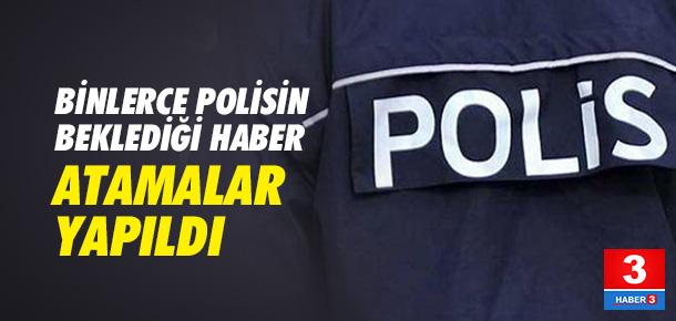 38 bin polisin ataması yapıldı !