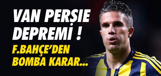 Fenerbahçe'den Persie'ye: ''12 milyon euro getir, git''