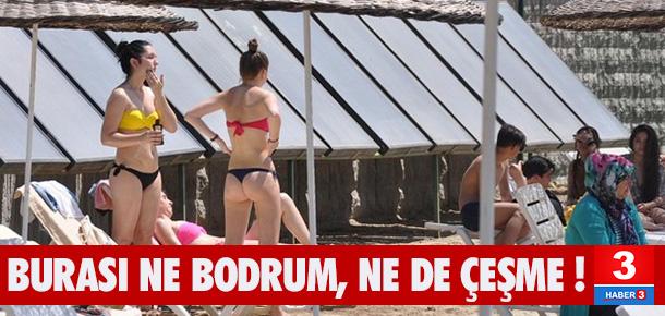 Burası Bodrum değil Eskişehir !