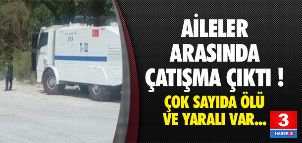 Ankara'da iki aile arasında çatışma çıktı !