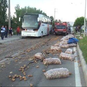 Ankara'da 3 yolcu otobüsüne silahlı saldırı