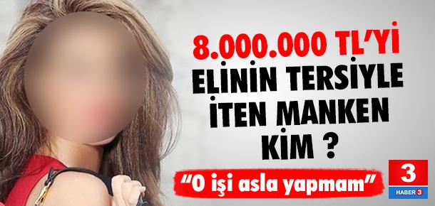 8 milyon lirayı elinin tersiyle itti !
