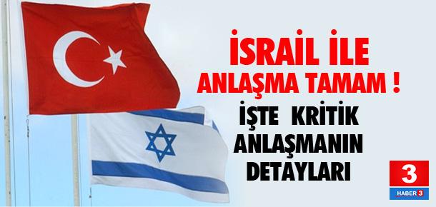 Türkiye ile İsrail anlaştı !