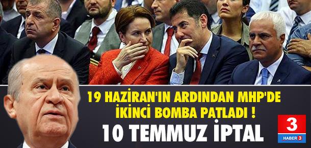 MHP'DE BİR BOMBA KARAR DAHA !