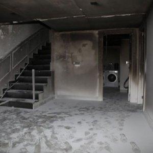 Ünlü türkücünün evi kül oldu !