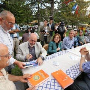 Gazeteci yazar Taşgetiren, Gazianteplilerle buluştu