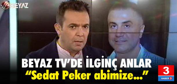 Beyaz TV'de Sedat Peker'e doğum günü kutlaması