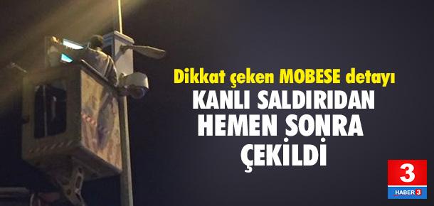 Saldırı sonrası MOBESE'den görüntü alındı