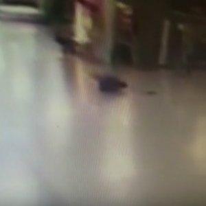 Atatürk Havalimanı'ndaki patlamadan dehşete düşüren görüntü
