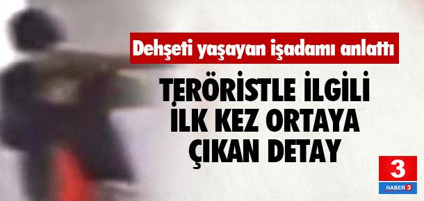 Teröristin silahı tutukluk yapmış !