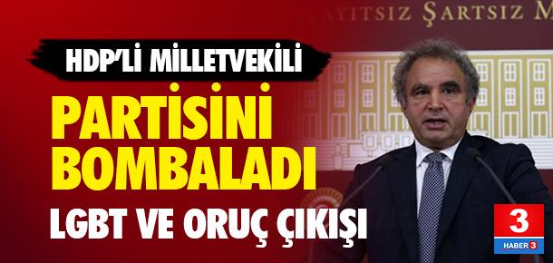 HDP'li vekilden partisine eleştiriler