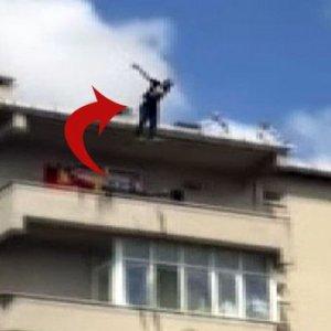 6. kattan intihar girişimi ! Ağaç önledi
