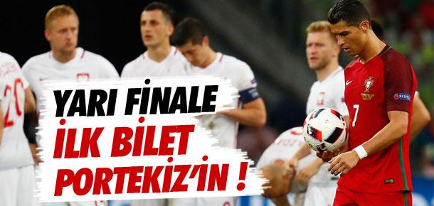 Portekiz yarı finalde !
