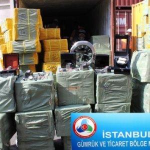 İstanbul gümrüğünde 170 milyon liralık operasyon !