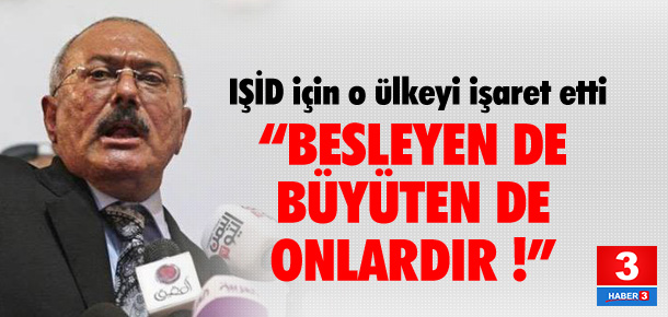 """""""IŞİD'i besleyen Suudi Arabistandır"""""""
