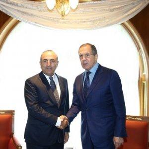 Lavrov ile Çavuşoğlu'ndan tarihi görüşme