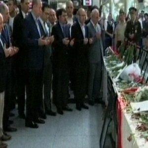 Erdoğan'dan Atatürk Havalimanı'na ziyaret
