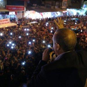 Erdoğan'ın iftar verdiği Kilis'te olay görüntü !