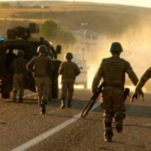 Gümüşhanede'de PKK operasyonu: Sığınaklar imha edildi