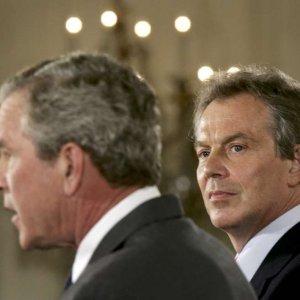 Blair'den Bush'a Irak savaşı mektupları