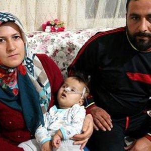 Hırsızların ilaç parasını çaldığı Menasa bebekten acı haber