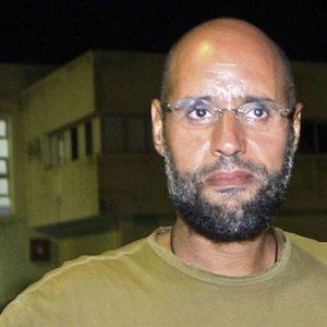 Kaddafi'nin oğlıu serbest