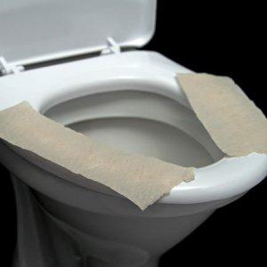 Klozete tuvalet kağıdı serenler dikkat !