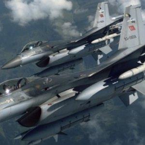 F-16'lar kalkışma yapan helikopteri düşürdü !