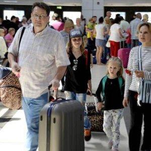 Kriz bitti, Rus turist yaşadı !