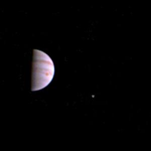Jüpiter'den ilk fotoğraf geldi !