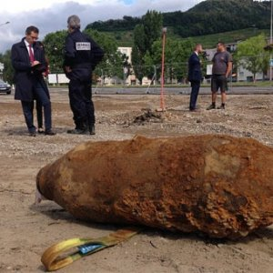 II. Dünya Savaşı'ndan kalma bomba bulundu