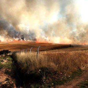 Ankara'da dev yangın
