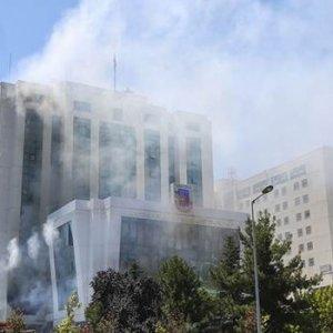 Jandarma Genel Komutanlığı'nda yangın çıktı !
