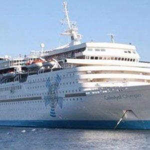 Turist gemileri rota değiştirdi