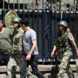 Otele saldıran askerler gözaltında !