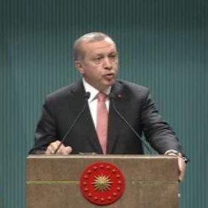 Erdoğan: ''3 ay süresince OHAL ilan edildi''