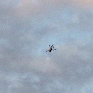 Bursa'yı karıştıran helikopter !