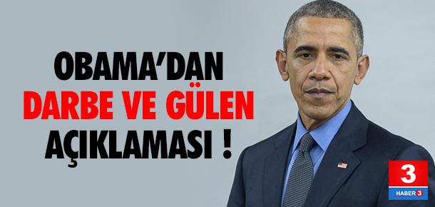Obama'dan son dakika Türkiye açıklaması