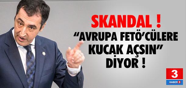 Cem Özdemir'den darbe sonrası skandal çıkış