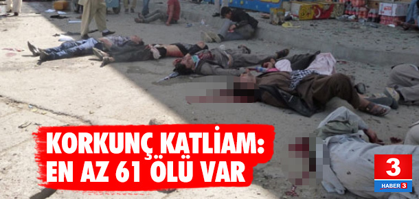 IŞİD'den katliam: En az 61 kişi öldü