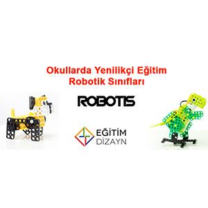 Okullarda yenilikçi eğitim robotik sınıfları Robotis