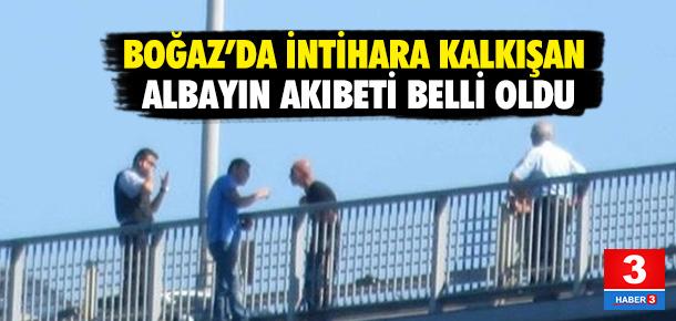 Boğaz'da intihara kalkışan albay için karar verildi