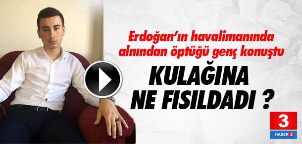 Erdoğan'ın darbe gecesi alnından öptüğü çocuk konuştu