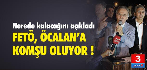 FETÖ Öcalan'a komşu oluyor !
