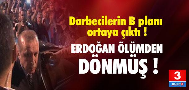 Erdoğan'a havalimanında suikast planı